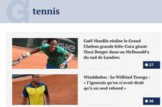 Rire au rebond #Gorafi #Tennis De choses et d'autres : Le Gorafi à la volée
