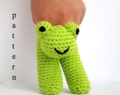 Dos patrón de títeres de dedo Amigurumi crochet amigurumi | Etsy