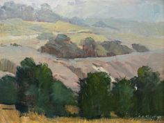 Meredith Brooks Abbott, a founding member of the OAK group, continues to paint impressionist landscapes, still lifes and portraits. Meredith Brooks, Western Landscape, Impressionist Landscape, Western Art, Still Life, Westerns, Contemporary, Portrait, American