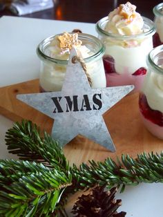 Today I only get in touch very briefly from my Christmas . Winter Desserts, Fun Desserts, Dessert Recipes, Christmas Time, Merry Christmas, Xmas, Christmas Ornaments, Diet Tips, Deserts