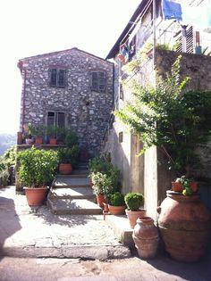 #Medieval #hilltop #village home #Tuscany