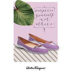 Perfekt zum Sommerkleid: Die Audrey-Ballerinas in Flieder