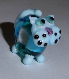 Prachtige en leuke Regiakralen Kat in de kleuren Aquamarijne, Teal Blauw en Hemelsblauw!!! <3 Gemaakt op verzoek van lieve Annemieke <3