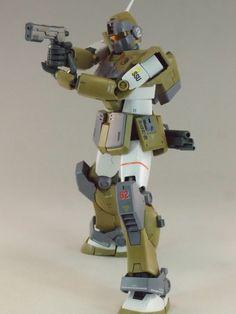REVIEW: MG 1/100 RGM-79SC GM SNIPER CUSTOM (MS Gundam MSV Series) http://www.gunjap.net/site/?p=328762