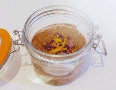 Raw Cacao and Orange Chia Pudding
