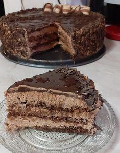 Τούρτα σοκολατίνα, ένα ποίημα! Greek Sweets, Greek Desserts, Pastry Recipes, Sweets Recipes, Cooking Recipes, Cake Mix Cookie Recipes, Cake Mix Cookies, Chocolate Sweets, Best Chocolate Cake