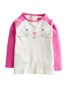 BABYCATRIN Baby Girls Cat Top