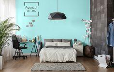 Tu habitación será el perfecto equilibrio de color y diseño.