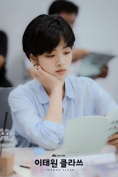 """[Photos] Script Reading Stills Added for the Korean Drama """"Itaewon Class"""" @ HanCinema :: The Korean Movie and Drama Database Drama Korea, Korean Drama, Drama Film, Drama Movies, Lee Joo Young Hair, Love 020, Hidden Movie, Movie Of The Week, Class Pictures"""