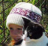 Frank and Brittany Fair isle hat pattern