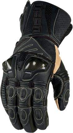 Overlord Long Glove - Black | Ride Icon