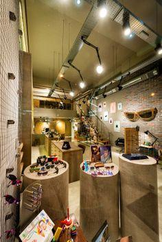 optical store . vasilis arvanitis interior designer