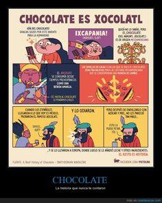 CHOCOLATE - La historia que nunca te contaron   Gracias a http://www.cuantarazon.com/   Si quieres leer la noticia completa visita: http://www.estoy-aburrido.com/chocolate-la-historia-que-nunca-te-contaron/