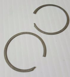 HARLEY DAVIDSON REPOP LOCK RINGS for Case Race 1940 - 1954 Big Twins SET OF 2