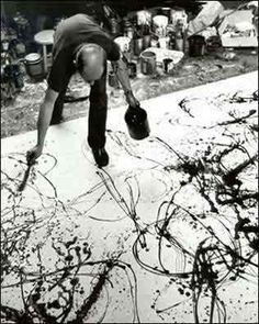 Pollock+Jackson+painting