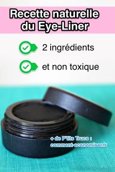 Here& How To Make A Non-Toxic Eye Liner With ONLY 2 Ingredients. - What is my easy homemade recipe with no toxic eyeliner products? Beauty Tips For Face, Natural Beauty Tips, Face Tips, Face Beauty, Beauty Tricks, Beauty Secrets, Beauty Skin, Beauty Care, Diy Beauty