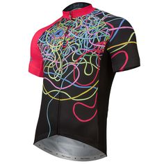 Don't Break The String Cycling Jersey by Matthew Burton Men's | Artist-Inspired Cycling Apparel | Pactimo
