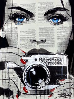 Find the ultimate pop art essentials for your mid-century home decor Arte Pop, Journal D'art, Art Du Collage, Newspaper Art, Oeuvre D'art, Amazing Art, Urban Art, Art Drawings, Saatchi Art