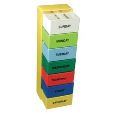 The Seven Day Color Deep Capacity Pill Box -- Clicking on the VISIT button will lead you to find similar product