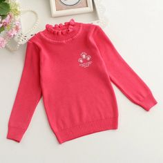 2016 New Kids Sweater Baby Girls Sweater Children Autumn Winter Spring Sweater Kids Ruffles O-neck Sweater #>=#>=#>=#>=#> Click on the pin to check out discount price, color, size, shipping, etc. Save and like it!
