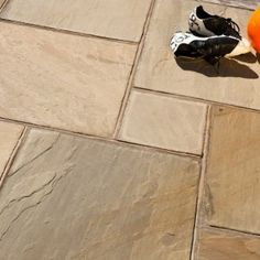 We offer highest grade of Indian sandstone paving slabs for your landscape architecture and landscape architects. There are wide variety of indian stone paving to choose from! Outdoor Paving, Outdoor Tiles, Indian Stone Flags, Indian Sandstone Paving Slabs, Garden Design Images, York Stone, Patio Slabs, Urban Setting, Paving Stones