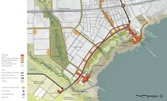 Image 13 of 25 from gallery of A Vision Plan for the Dead Sea / Sasaki Associates. Integration and connectivity of the new Corniche development area