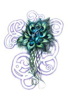 L'Atelier de Céleste: Fleur de paon