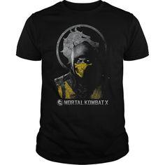 View images & photos of Mortal Kombat X Scorpion Bust t-shirts & hoodies