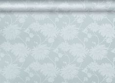 Duck egg floral wallpaper from Laura Ashley *