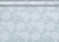 Kimono Duck Egg Floral Wallpaper- Laura Ashley