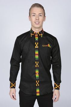 Pepperfruit offer a vibrant and spicy collection of handmade African clothing. African American Fashion, African Print Fashion, African Fashion Dresses, African Prints, African Attire, African Wear, African Dress, African Shirts For Men, African Clothing For Men