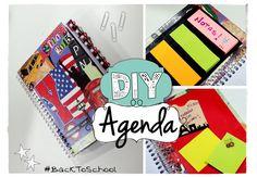 DIY Crea tu agenda perfecta! #BackToSchool