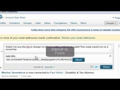 How to Add a YouTube Video to a LinkedIn Status Update by Peggy Duncan