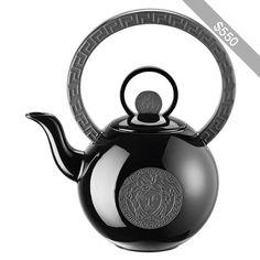Versace Home Home La Medusa Teapot