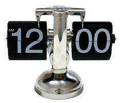 AMC Retro Flip Down Clock  Internal Gear Operated * Want additional info? Click on the image.