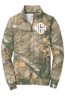 http://www.popularclothingstyles.com/category/quarter-zip/ Monogrammed Camo…
