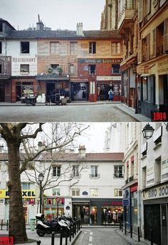 Paris Then and Now: Passage du Caire