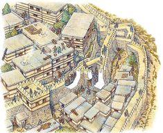 La Pintura y la Guerra. Sursumkorda in memoriam Mycenaean, Minoan, Historical Architecture, Ancient Architecture, Turm Von Babylon, Paladin, Ancient Troy, City Of Troy, Sea Peoples