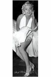 Sexy Marilyn Monroe Dress Up Poster adds unique decor to your home or business. Every Marilyn Monroe Movie Star collector would love this unusual gift. Marilyn Monroe Dress Up Posters are ready to hang with tabs on back.