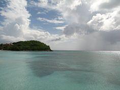 Antigua - beneath a cloudy sky