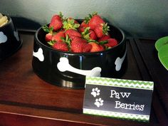Paw Berries - Paw Patrol Party