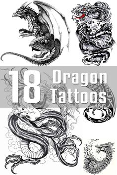 18 Dragon Tattoo Designs | The Body is a Canvas