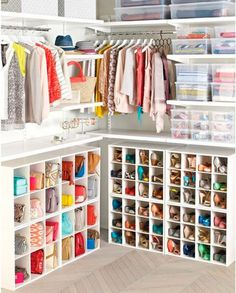 You may want to contemplate how many items that you'd love to have in your closet. Place the items you chose to keep back in your closet. If you are lucky enough to have a massive closet or walk in,… Continue Reading → Bag Closet, Walk In Closet, Shoe Closet, Ikea Storage, Closet Storage, Closet Organization, Organizing, Closet Bedroom, New Room