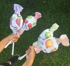 Giant Lollipop Surprise Ball  by WatermelonParty on Etsy