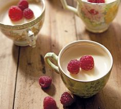 Honey Lemon Cream Puddings