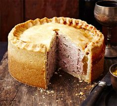 Raised pork pie | BBC Good Food  I had a wonderful pork pie in Vancouver, looking forward to make this my own.