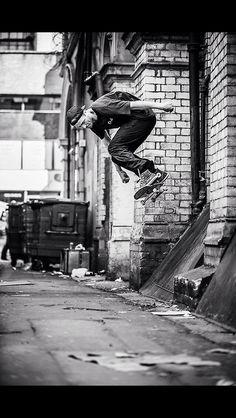 Ollie - #skateboarding