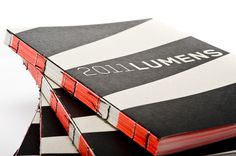 Beautifully presented and bound. 2011 Lumens Catalogue by Bildi Grafiks , via Behance