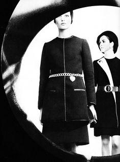 Nina Ricci and Lanvin photo Jean-Pierre Grabet 1968