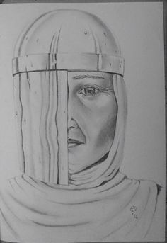 Sketch- 2016 Maid Marion of 3016 Robin's Marion of the future